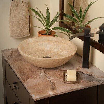 Novatto Natural Travertine Vessel Bathroom Sink Reviews