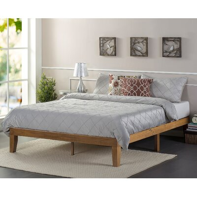 Zinus Wood Platform Bed Reviews Wayfair  Sleigh Zinus Used Beds Moncler  Factory Outlets com. Zinus Leather Silver Beds   makitaserviciopanama com