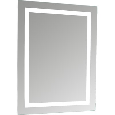 erias home designs lighted and illuminated professional makeup mirror