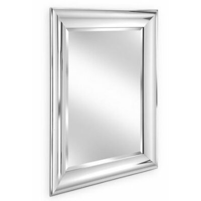Erias Home Designs Simple Beveled Edge Wall Mirror Reviews Wayfair