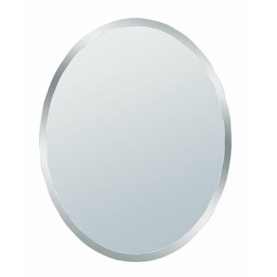 Erias Home Designs Talia Small Beveled Oval Wall Mirror | Wayfair