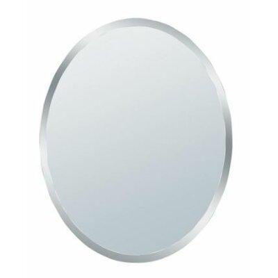 erias home designs talia small beveled oval wall mirror u0026 reviews wayfair