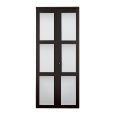 erias home designs baldarassario wood 2 panel painted bi fold interior door reviews wayfair - Erias Home Designs