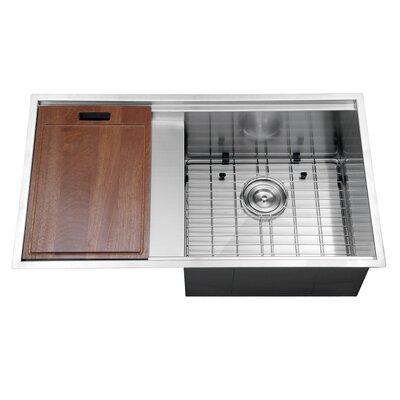 Roma  X  Undermount Single Bowl Kitchen Sink