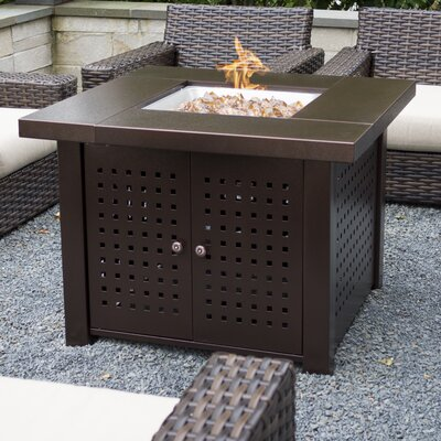 Pleasant Hearth Eden Gas Fire Pit Table U0026 Reviews | Wayfair