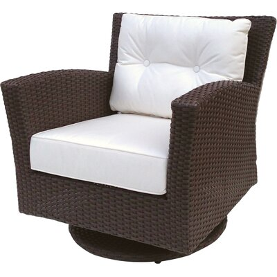 ElanaMar Designs Sonoma Swivel Rocking Chair with Cushions