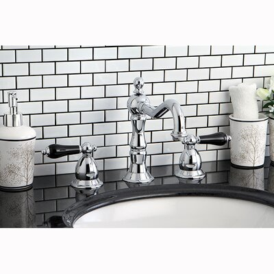 Bathroom Faucets Kingston kingston brass heritage onyx double handle widespread bathroom