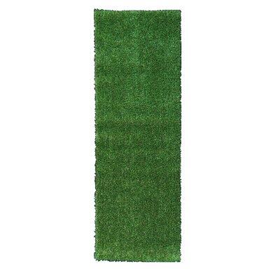 Ottomanson Garden Grass Green Indoor/Outdoor Area Rug U0026 Reviews | Wayfair
