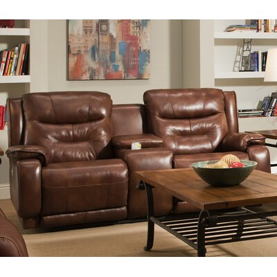 Southern Motion Crescent Leather Reclining Loveseat U0026 Reviews | Wayfair