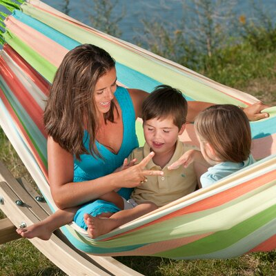LA SIESTA DOMINGO Weatherproof Family Olefin Tree Hammock & Reviews |  Wayfair - LA SIESTA DOMINGO Weatherproof Family Olefin Tree Hammock