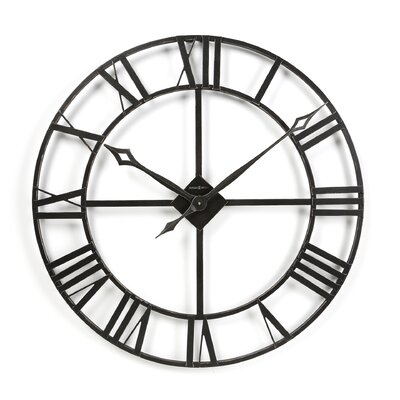 Howard Miller Gallery Oversized 32 Lacy Quartz Wall Clock