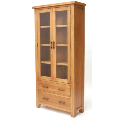 Home Etc Hadleigh Solid Oak Display Cabinet Reviews