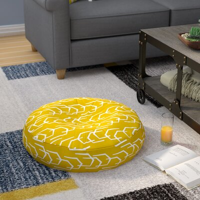 Ivy Bronx Spence Going Places Sunkissed Round Floor Pillow & Reviews ...
