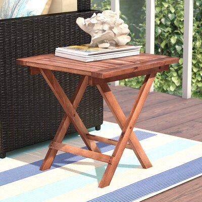 beachcrest home aranmore outdoor square bistro table u0026 reviews wayfair