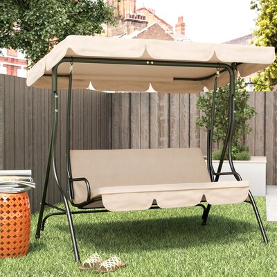 Andover Mills Fairview Porch Swing U0026 Reviews | Wayfair