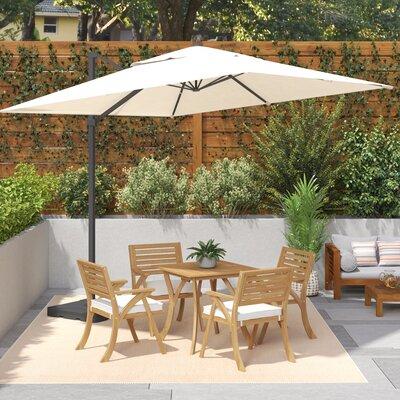 Brayden Studio 10u0027 Square Cantilever Umbrella U0026 Reviews | Wayfair