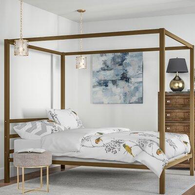 & Stanley Canopy Bed u0026 Reviews   Joss u0026 Main