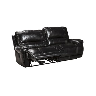 Great Paron Leather Reclining Sofa