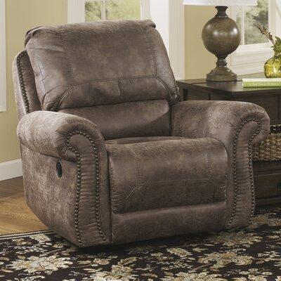 signature design by ashley evansville swivel glider recliner u0026 reviews wayfair