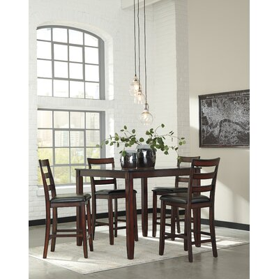 signature designashley coviar 5 piece counter height dining