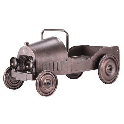 dexton vintage car metal statue planter wayfair