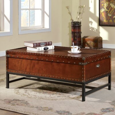 hokku designs benjamin coffee table trunk & reviews | wayfair