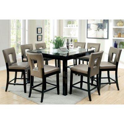 Hokku Designs Vanderbilte 3 Piece Counter Height Dining Set ...