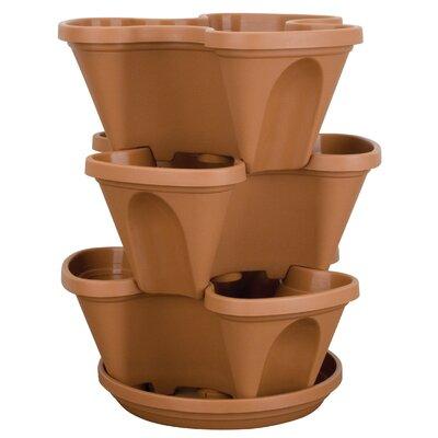 akromils lawn u0026 garden plastic pot planter u0026 reviews wayfair - Akro Mils