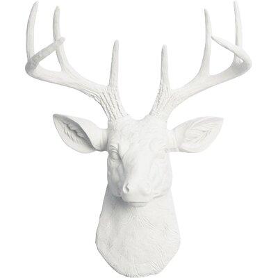 Deer Head Wall Decor white faux taxidermy the mini templeton small faux deer head wall