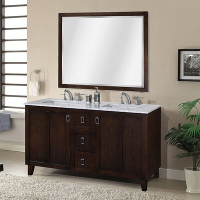 Zipcode Design Lehigh Double Sink Bathroom Vanity Set