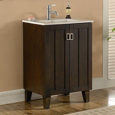 "24 Bathroom Vanities And Sinks zipcode design lehigh 24"" single sink bathroom vanity set"