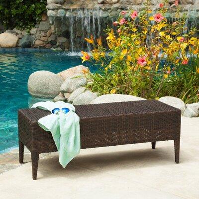 Home Loft Concepts Hobbes Wicker Garden Bench Reviews
