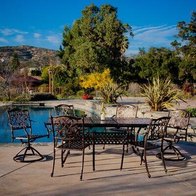 Home Loft Concepts Cozumel 7 Piece Cast Aluminum Dining Set   Reviews    Wayfair. Home Loft Concepts Cozumel 7 Piece Cast Aluminum Dining Set