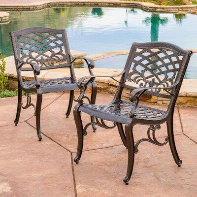 Home Loft Concepts Griffen Cast Aluminum Outdoor Chair   Reviews   Wayfair. Home Loft Concepts Griffen Cast Aluminum Outdoor Chair   Reviews