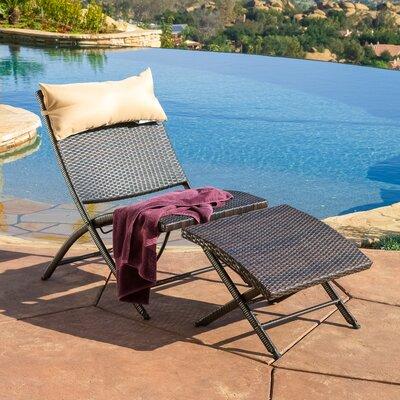. Home Loft Concepts Chaise Lounge   Reviews   Wayfair