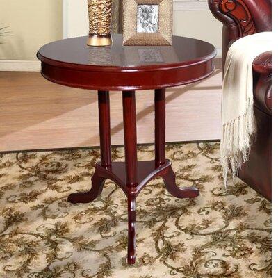 . Hazelwood Home Early American End Table   Reviews   Wayfair