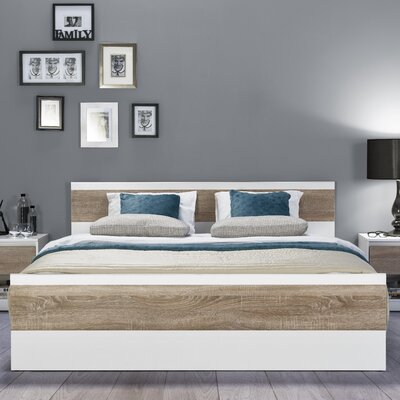 urban designs wenecja european kingsize bed frame reviews wayfaircouk - European Bed Frame