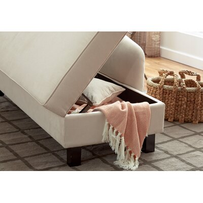 Three posts verona storage chaise lounge reviews for Ashland chaise storage lounge