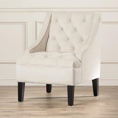 Three Posts Darien Tufted Swoop Side Chair U0026 Reviews | Wayfair