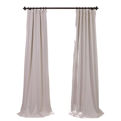 Curtains Ideas blackout pinch pleat curtains : Three Posts Freemansburg Thermal Blackout Single Curtain Panel ...