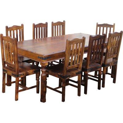 Ethnic Elements Ganga Sheesham Dining Set With 8 Chairs U0026 Reviews    Wayfair.co.uk