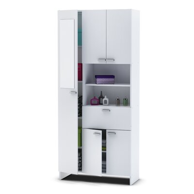 Home Etc Weende 82 X Mirrored Free Standing Tall