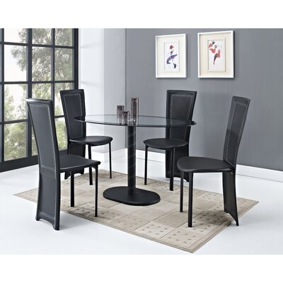 Home Haus Orson Dining Table And 4 Chairs Reviews Wayfair Uk