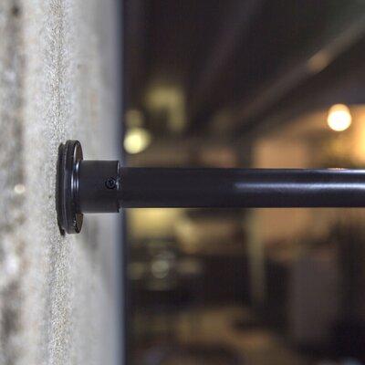 RoomDividersNow Tension Single Curtain Rod & Reviews | Wayfair