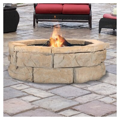 fire pit kit gas propane diy australia fossil stone wood burning