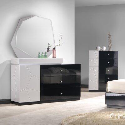 J amp amp M Furniture Turin 3 Drawer Dresser with Mirror. J amp M Furniture Turin 3 Drawer Dresser with Mirror  amp  Reviews   Wayfair