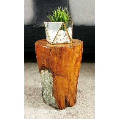 sc 1 st  Wayfair & Cole u0026 Grey Wood Teak and Resin Garden Stool u0026 Reviews | Wayfair islam-shia.org