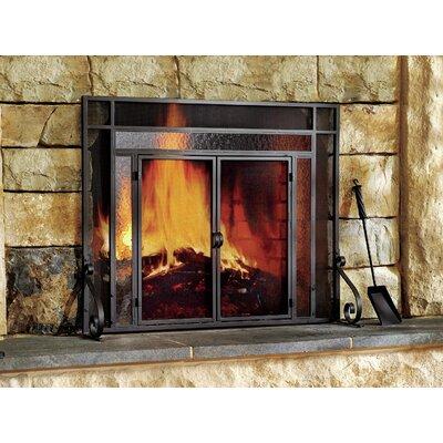 Plow & Hearth 2 Panel Steel Fireplace Screen & Reviews | Wayfair