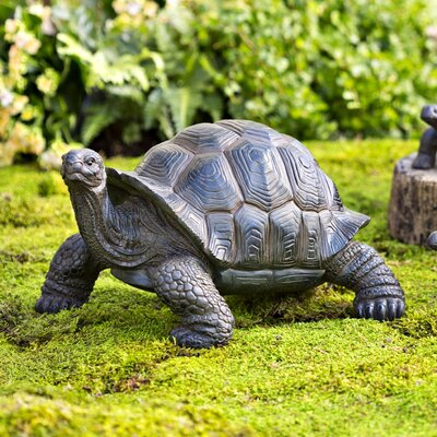 Perfect Plow U0026 Hearth Tortoise Family Resin Garden Accents Statue U0026 Reviews |  Wayfair