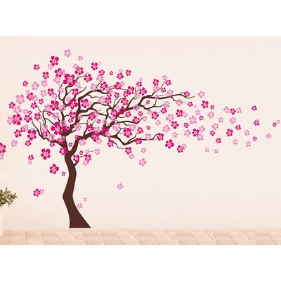 Pop Decors Cherry Blossom Tree Wall Decal & Reviews | Wayfair